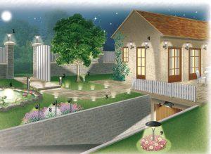eclairage-jardin